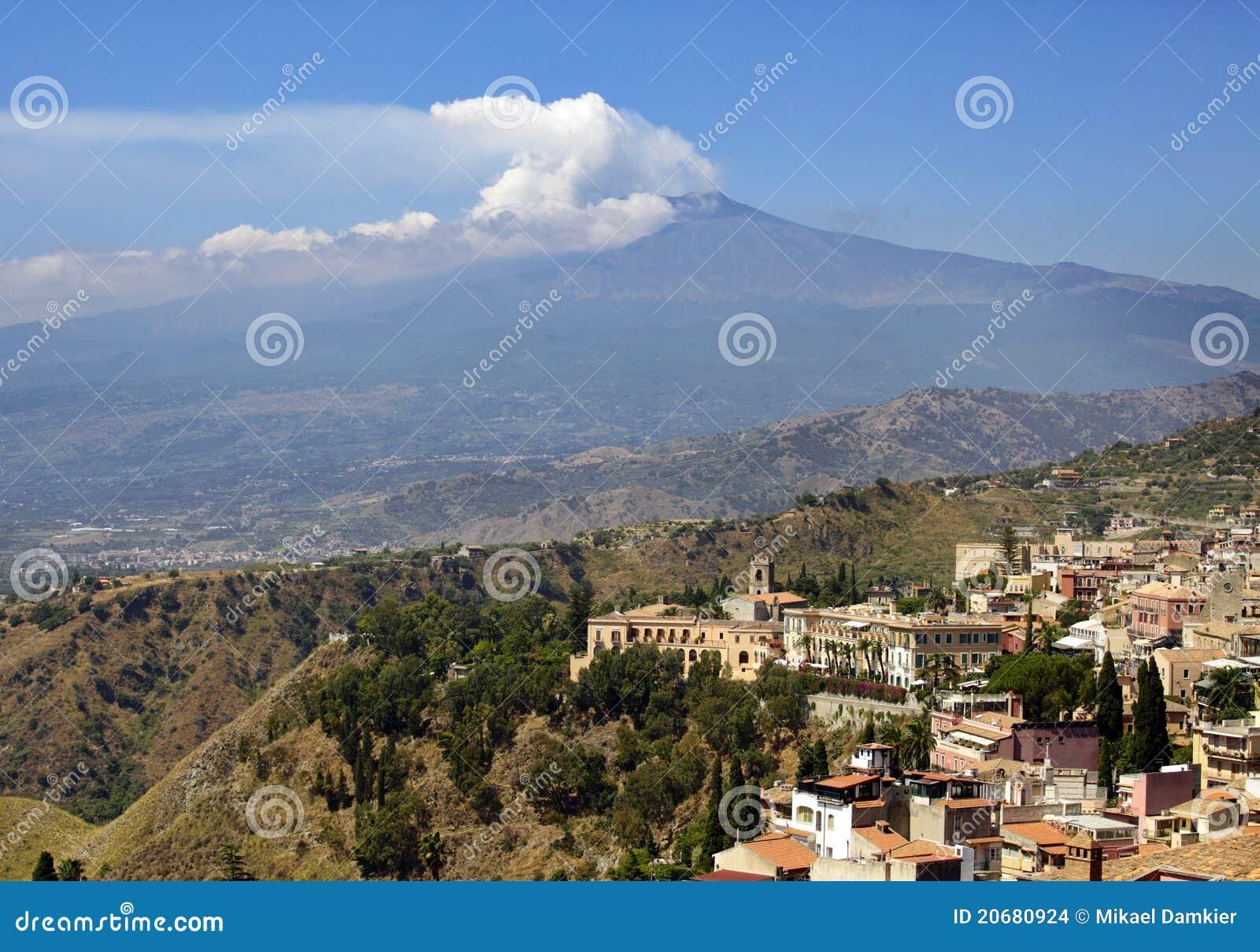Sicília, Italy, com Etna