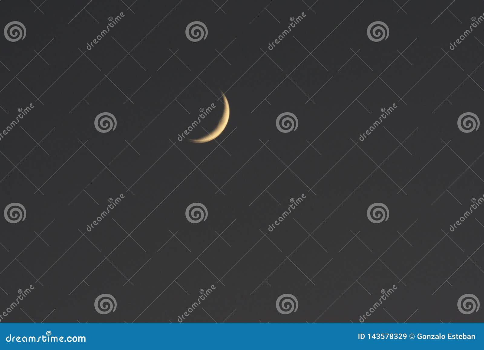 Sichelförmiger Mond