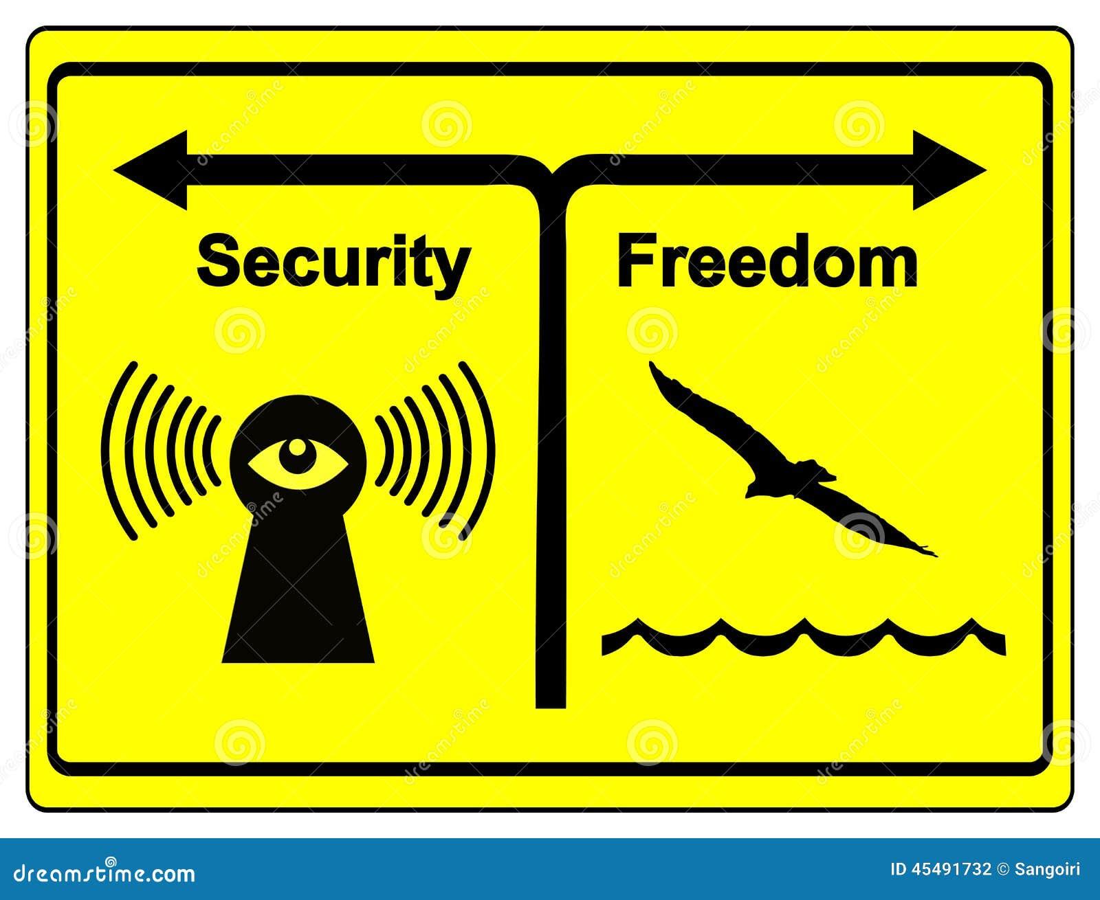 Sicherheit oder Freiheit