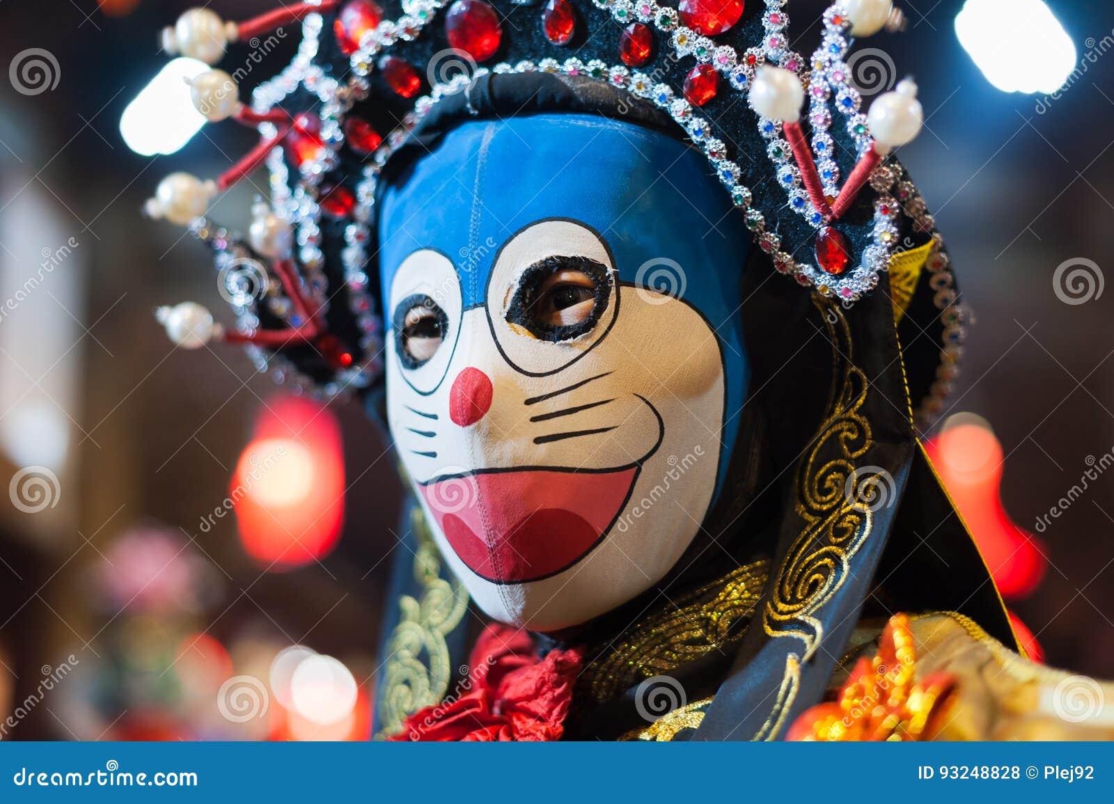 Sichuan πρόσωπο-μεταβαλλόμενος καλλιτέχνης οπερών