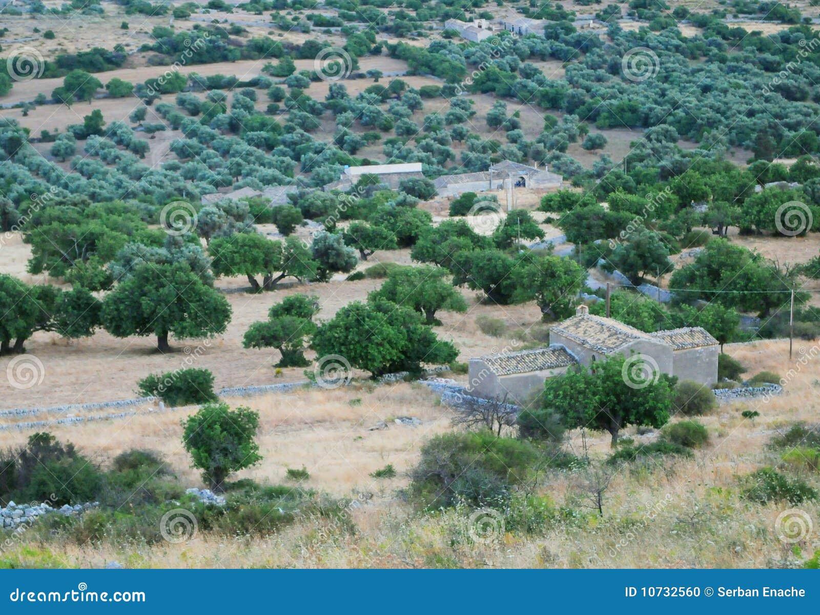 Siciliaans landelijk landschap