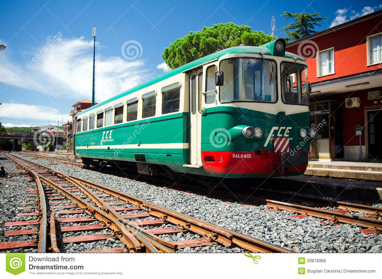 5f434f4b6c6e8 The Ferrovia Circumetnea is narrow-gauge regional railway line in Sicily  that follows a route which almost encircles the Etna volcano.