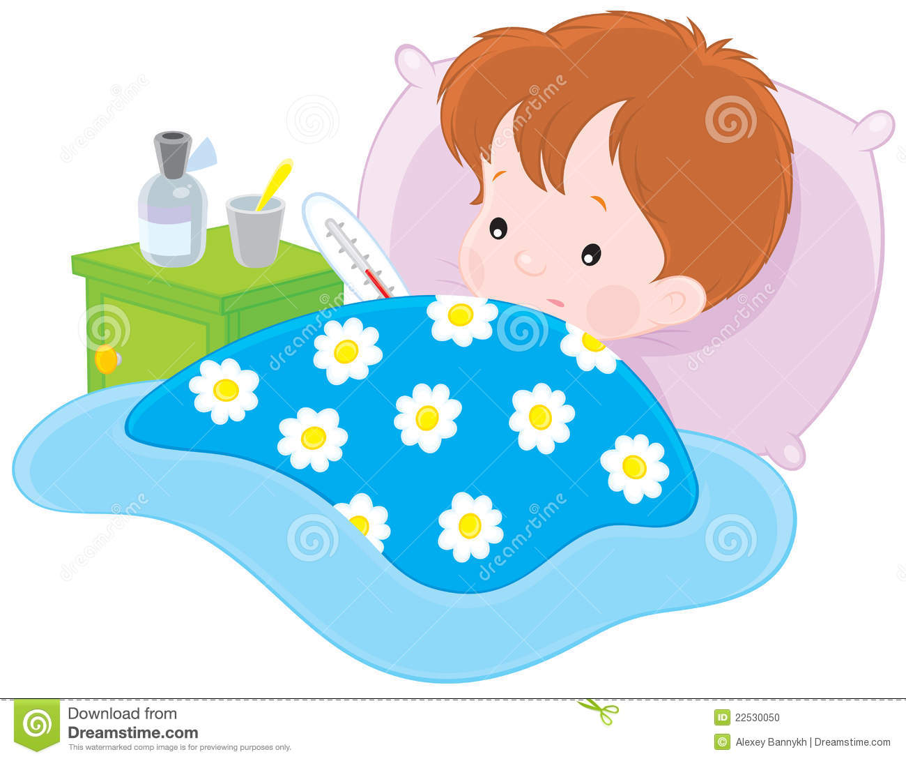 Sick boy stock vector illustration of cartoony infectious 22530050 download comp altavistaventures Images
