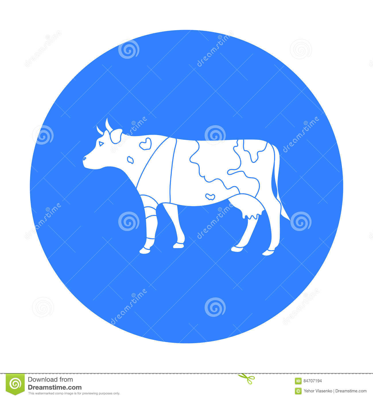 Sick cow with bandage on a leg icon in black style isolated on sick cow with bandage on a leg icon in black style isolated on white background veterinary clinic symbol stock vector buycottarizona