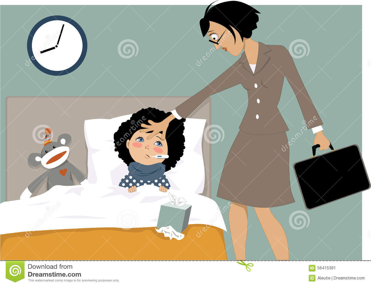 sick kid and her mom stock vector image 56415391 patriotic clip art borders free patriotic clip art borders