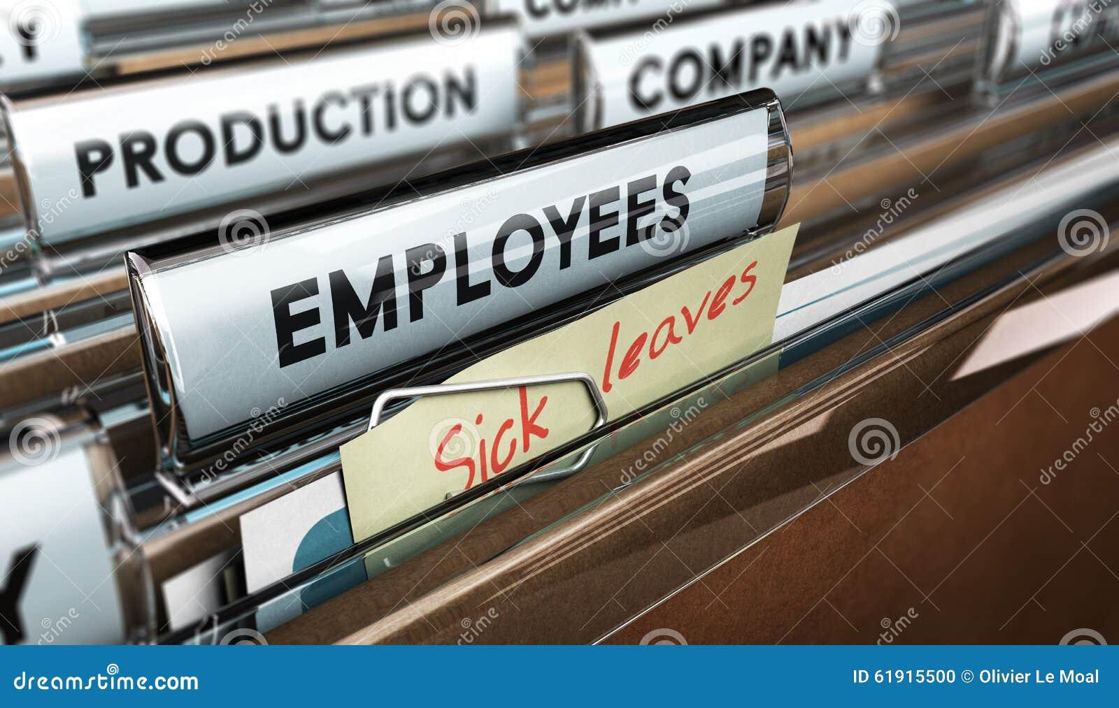 sick leave stock illustration image  sick leave