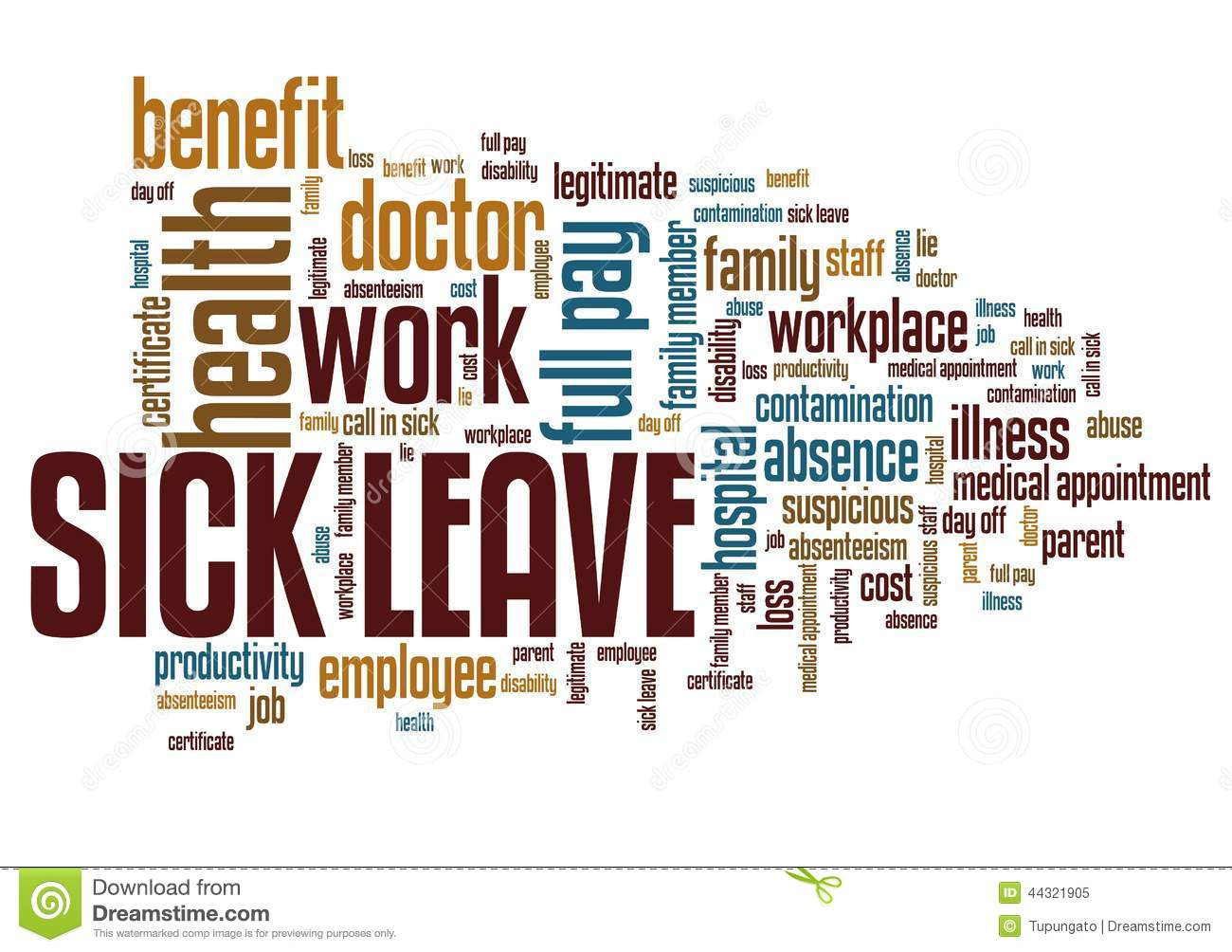 how to take sick leave