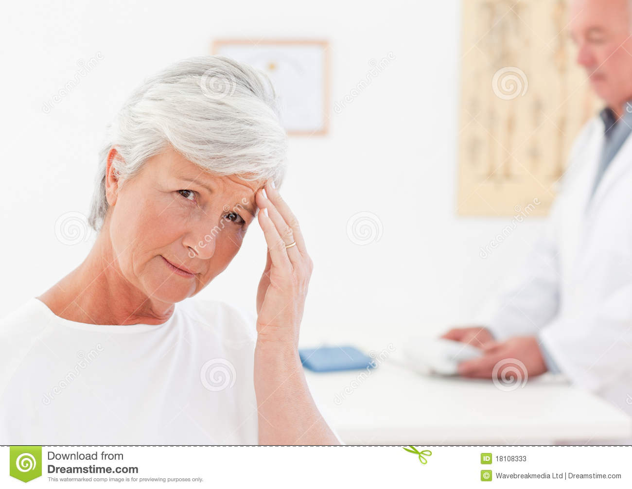 Sick Patient Pic : Sick Patient With Her Doctor Stock Photos - Image: 18108333