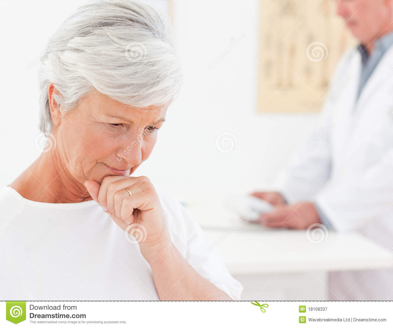 Sick Patient Pic : Sick Patient With Her Doctor Royalty Free Stock Photography - Image ...