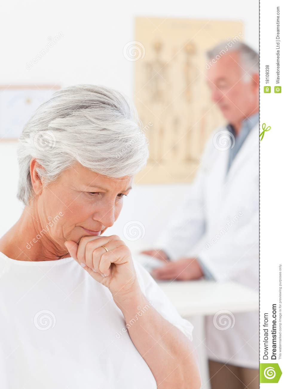 Sick Patient Pic : Sick Patient With Her Doctor Royalty Free Stock Photos - Image ...
