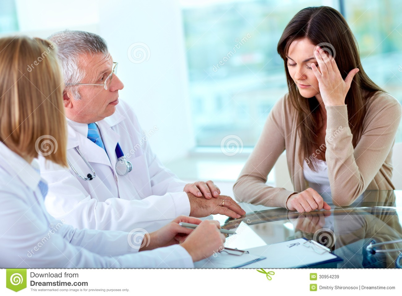 sick patient royalty free stock images