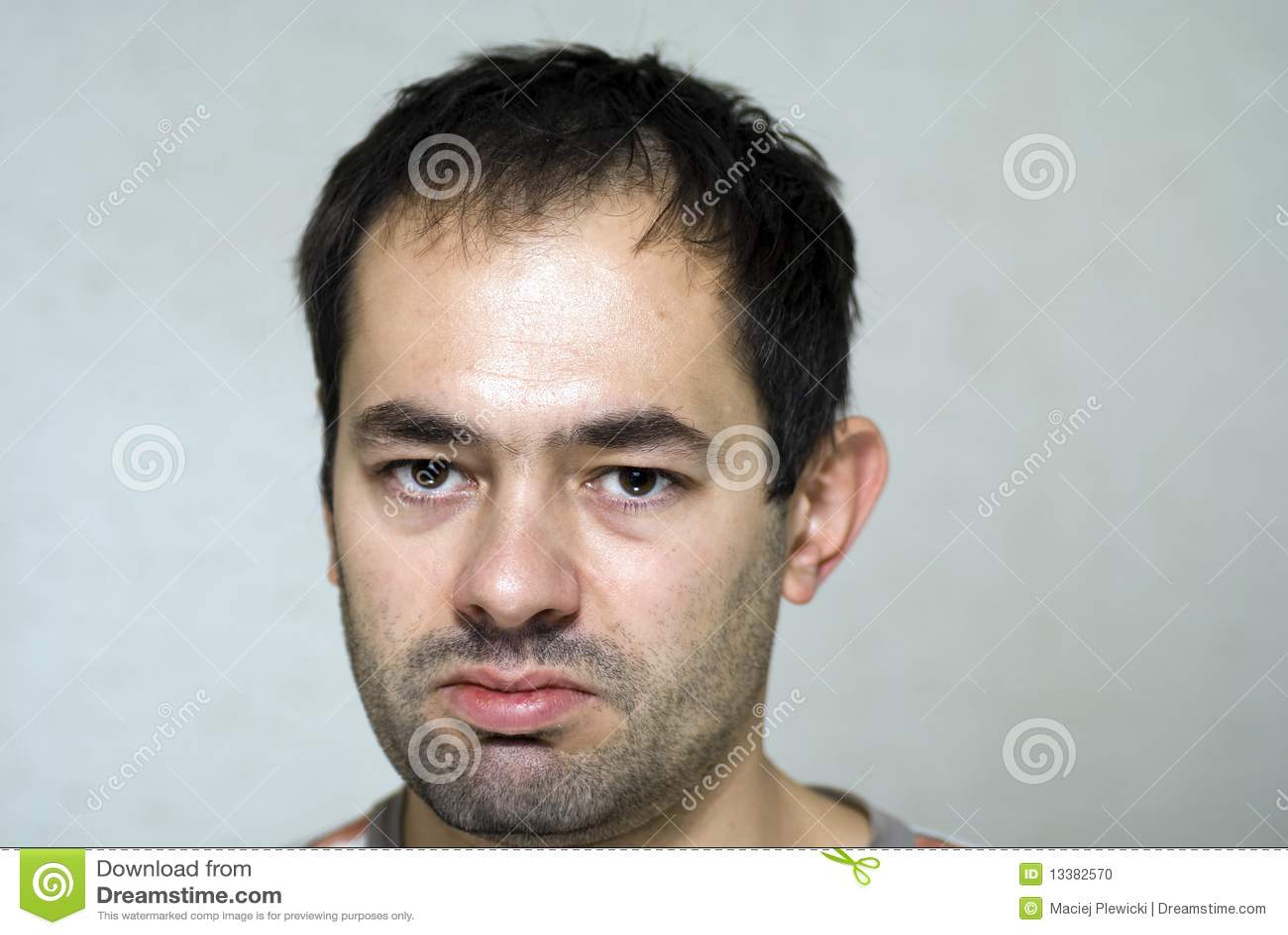 Sick Person Stock Photo. Image Of Beard, Casual, Failure