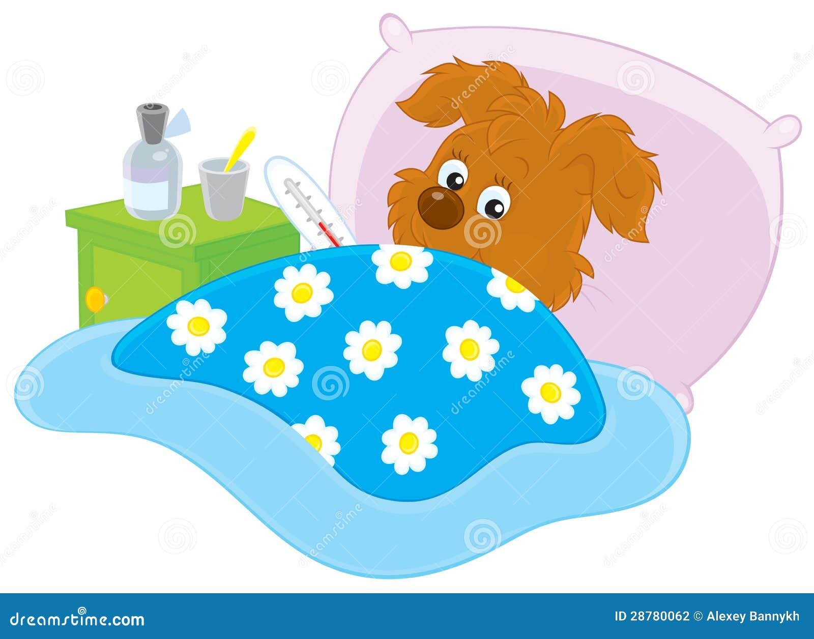 free clipart sick dog - photo #42