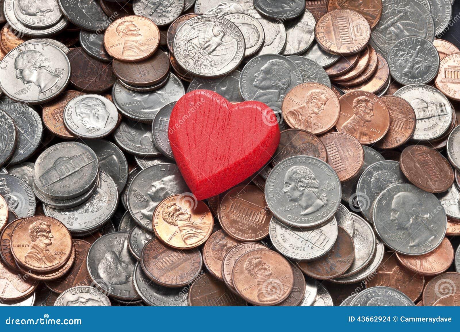 Sicurezza di felicità dei soldi di amore