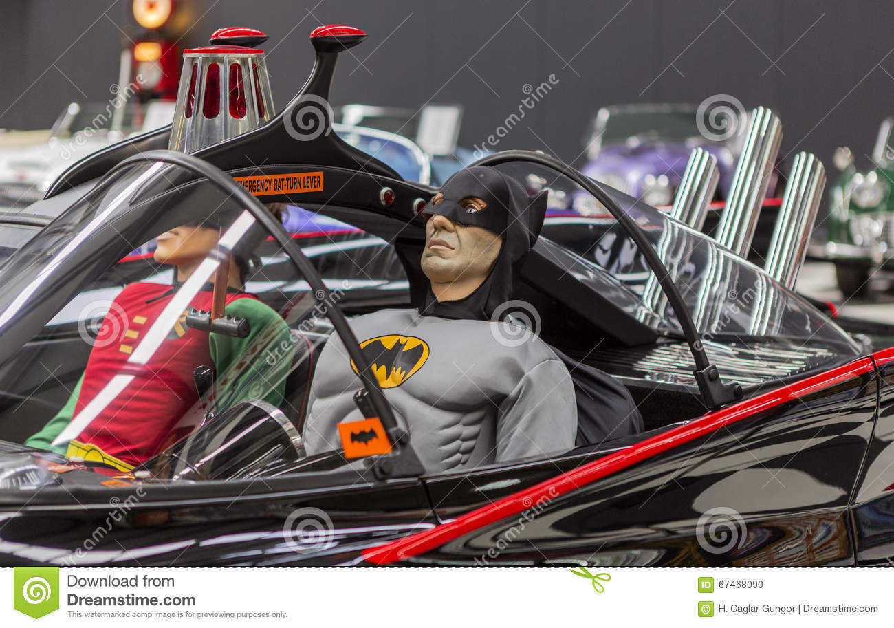 Side Detail Of Batman Car Batcar Editorial Image Image