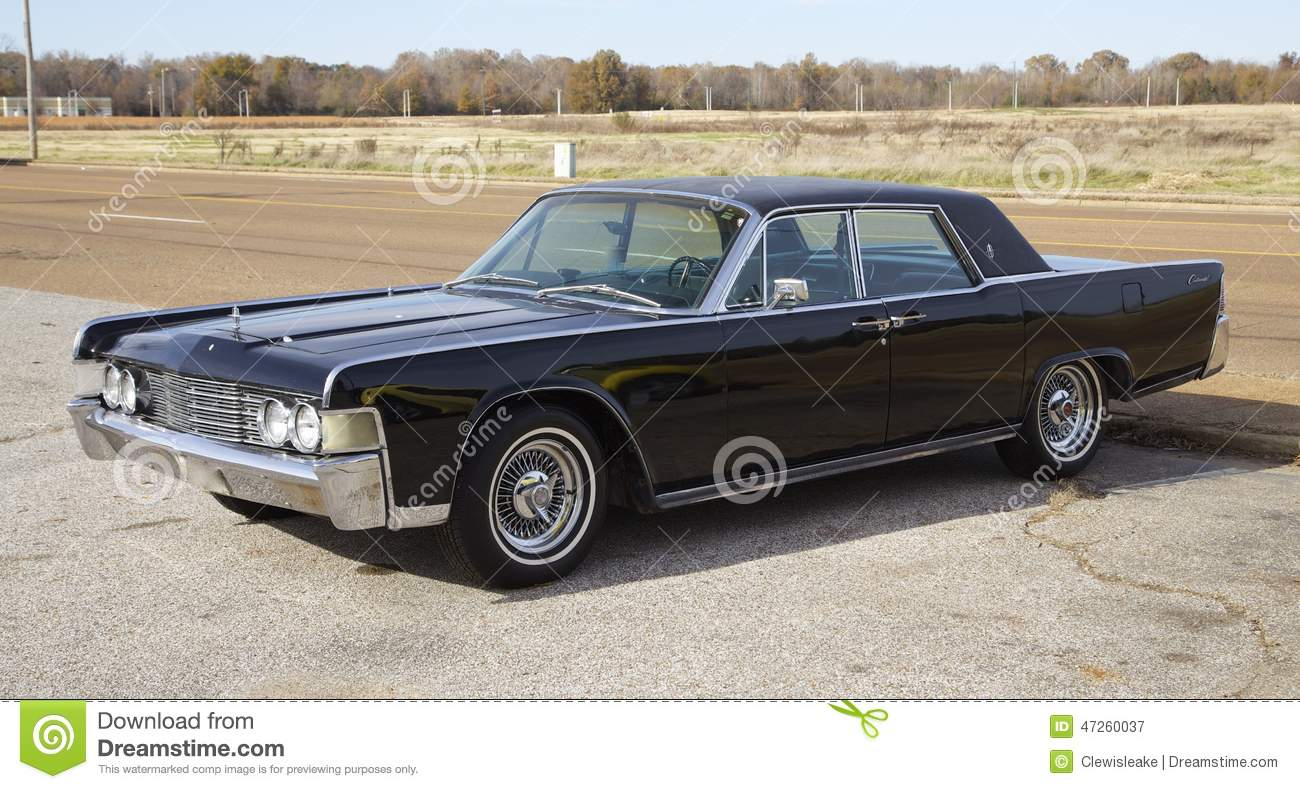 Lincoln Continental Black Editorial Photography Image Of Mercury