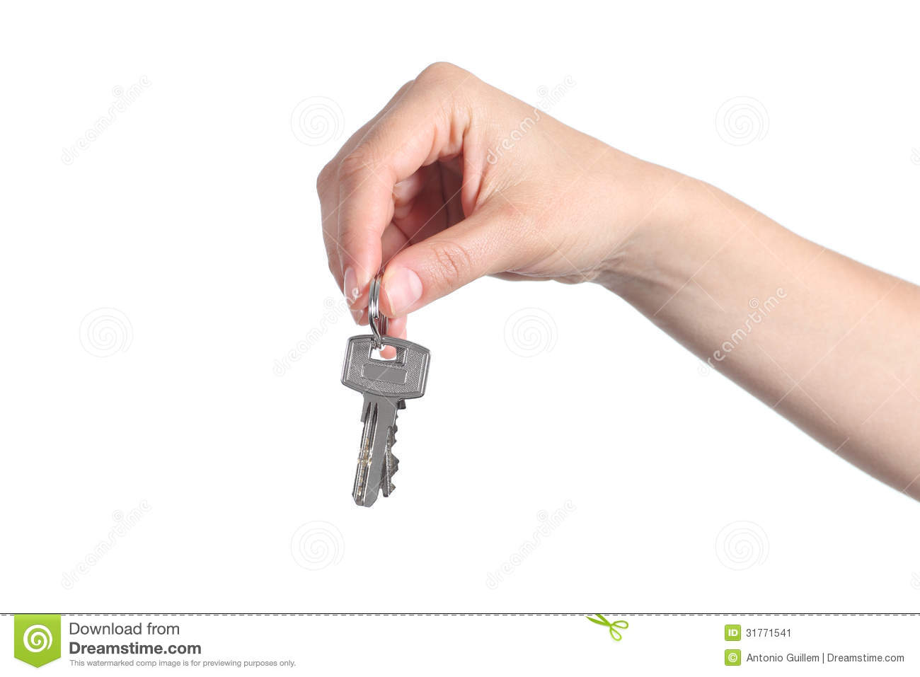 Key Car Dealership >> Side View Of Home Keys Hanging From A Woman Hand Stock Image - Image: 31771541