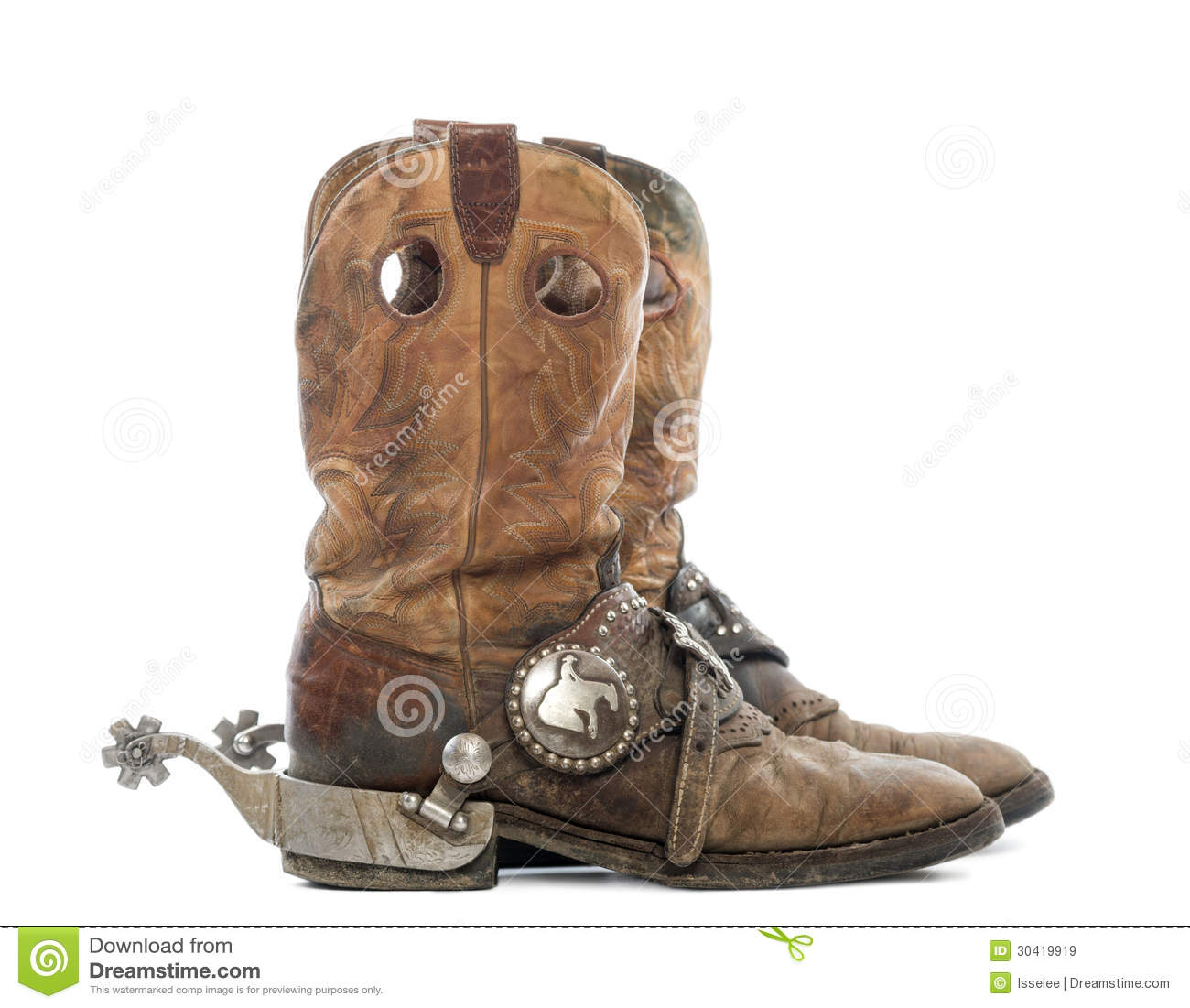 Boots Spurs Stock Photos, Images, & Pictures - 748 Images