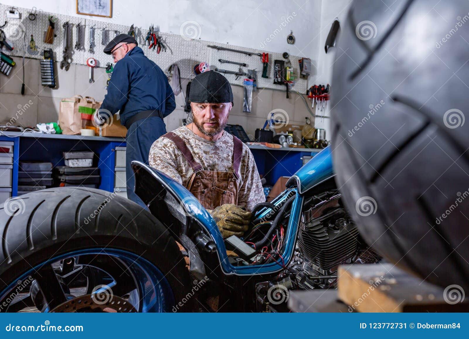 Garage only for men