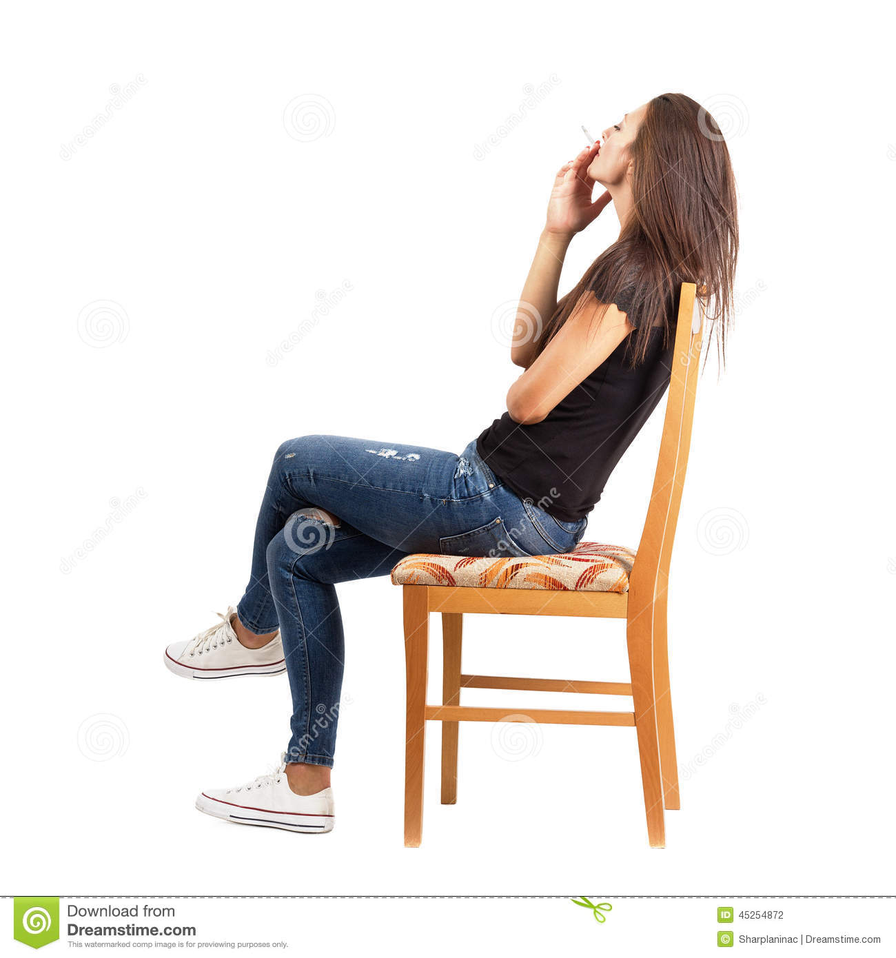 Stock photo young casual man full body isolated on white for Sitting chairs