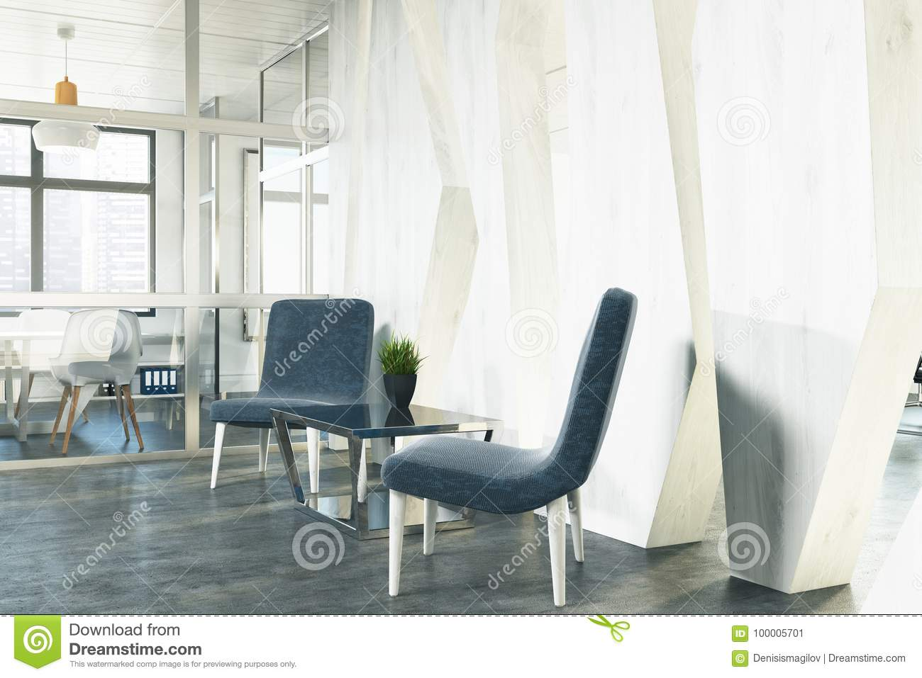 stylish office waiting room furniture. Office Waiting Area, Blue Armchairs, Side Stylish Room Furniture G
