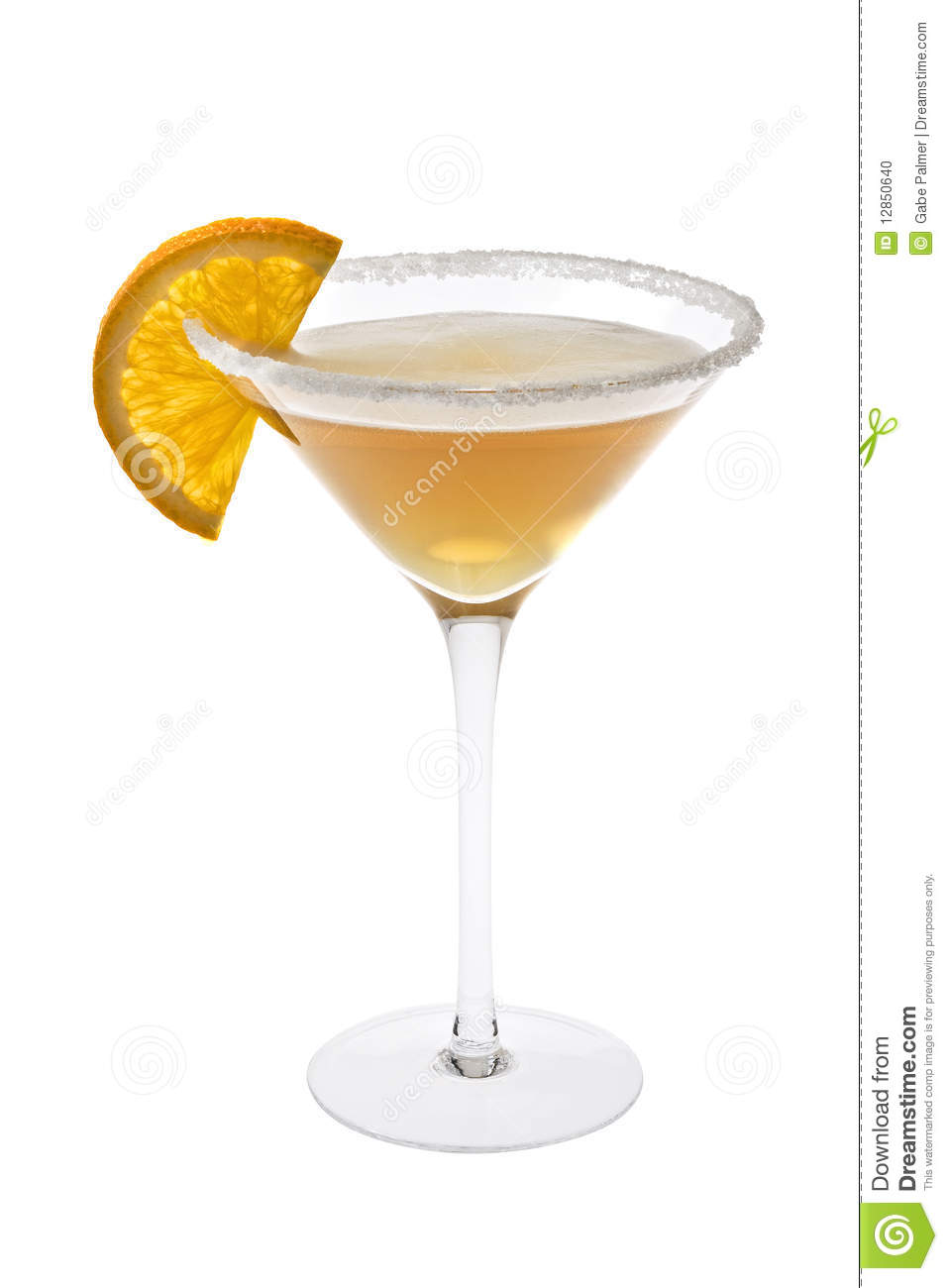 Sidecar Cocktail Stock Photo - Image: 12850640