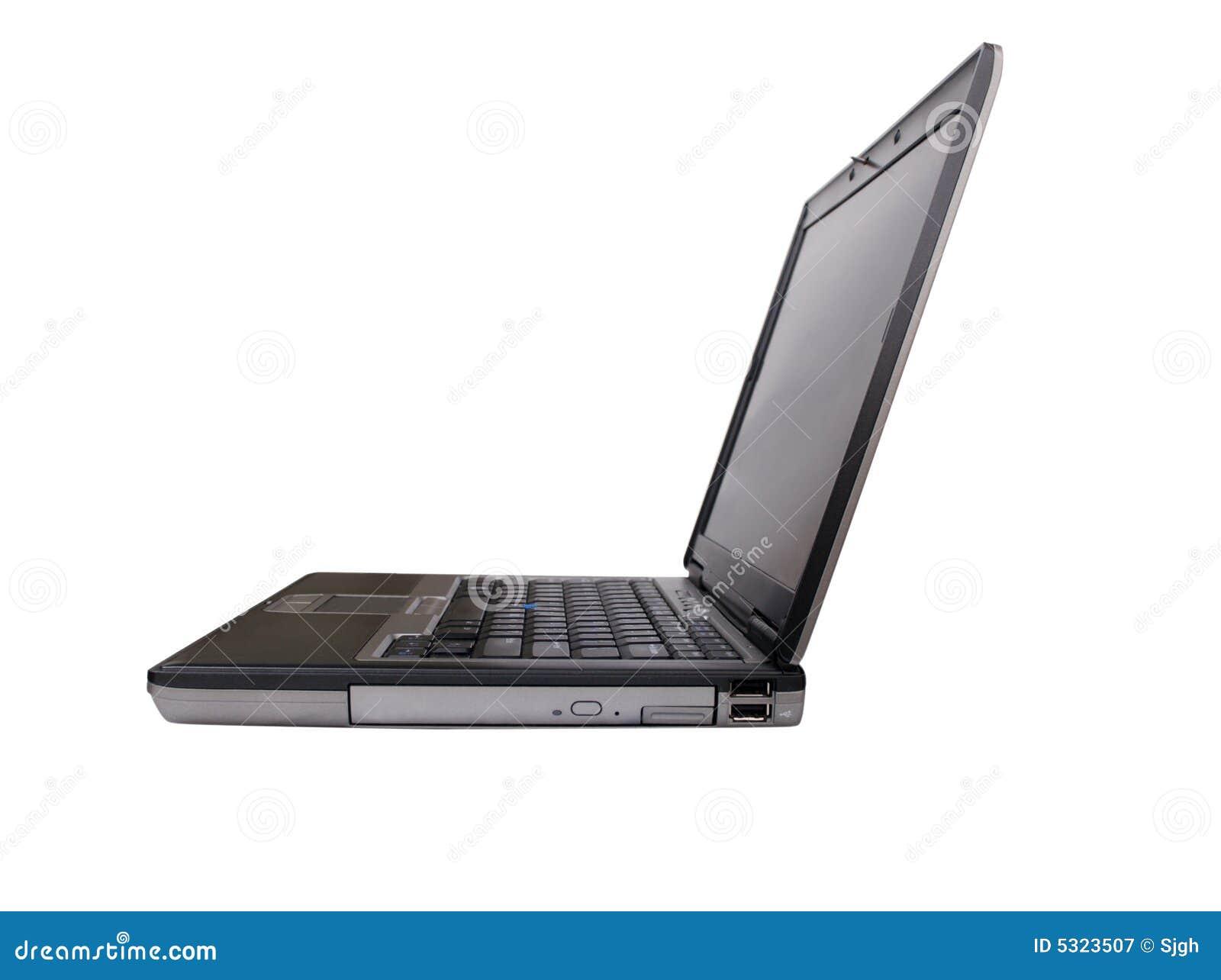 Download Sideview Del Computer Portatile Con Il Percorso Di Residuo Della Potatura Meccanica Immagine Stock - Immagine di laptop, tecnologia: 5323507