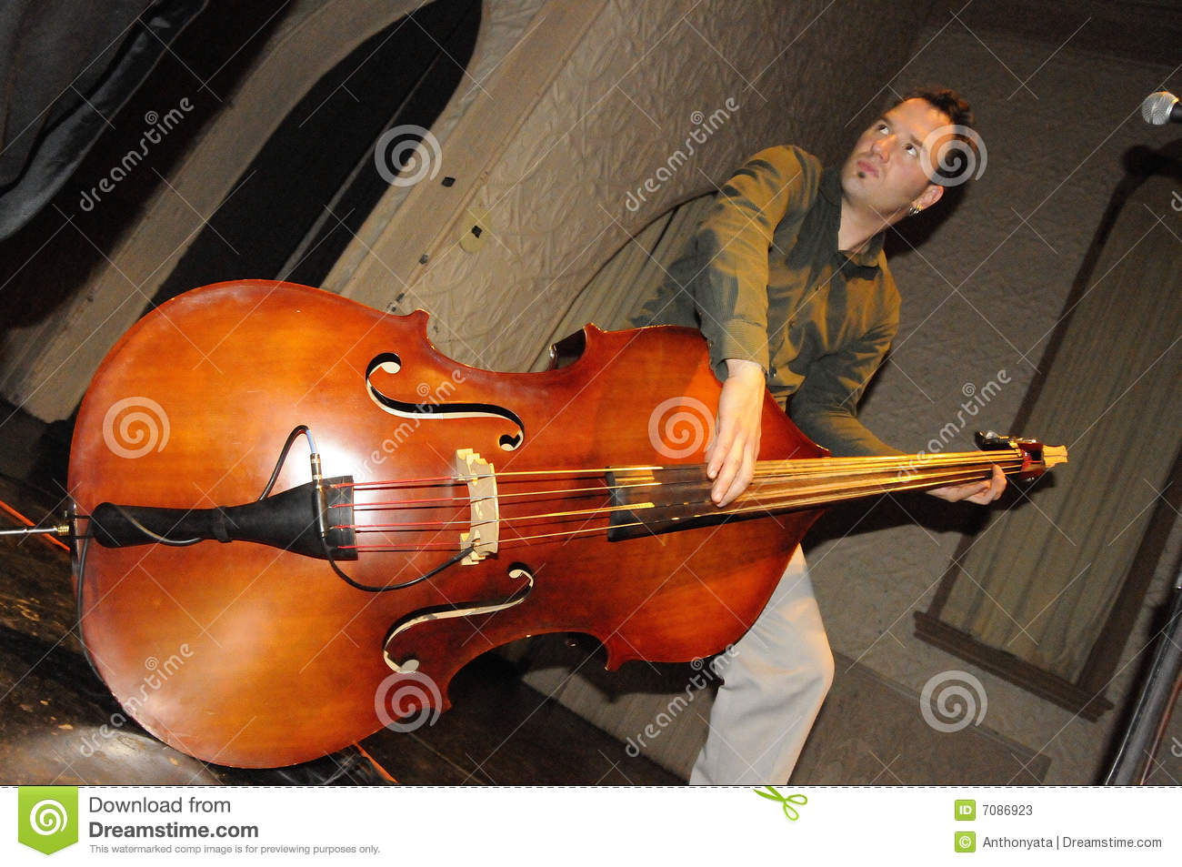 how to play fast double bass