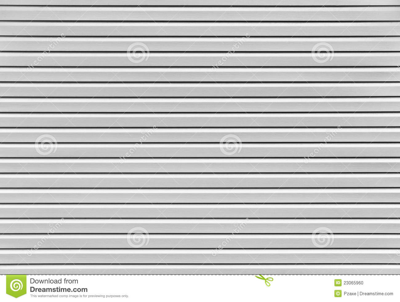 Siding Plastic Panels The Background Stock Photo