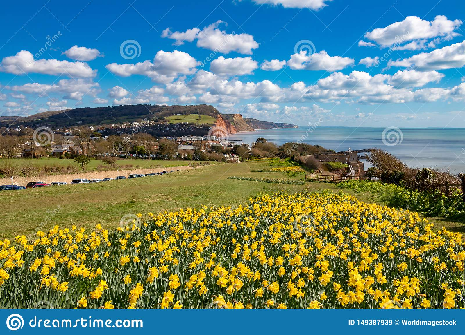 Sidmouth, Dorset, Angleterre