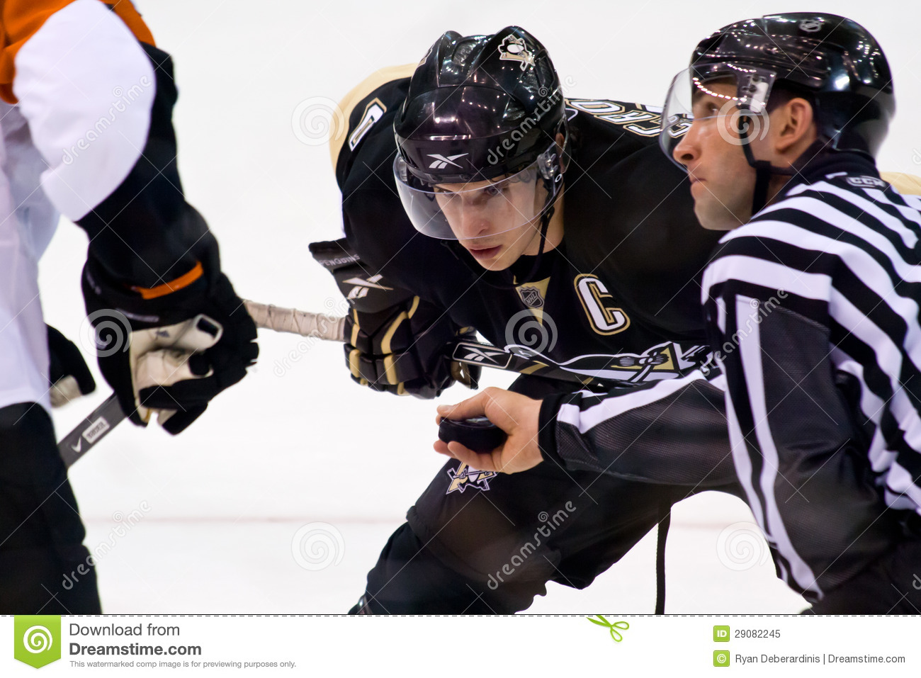 Sidney Crosby NHL-Hockey-Spieler