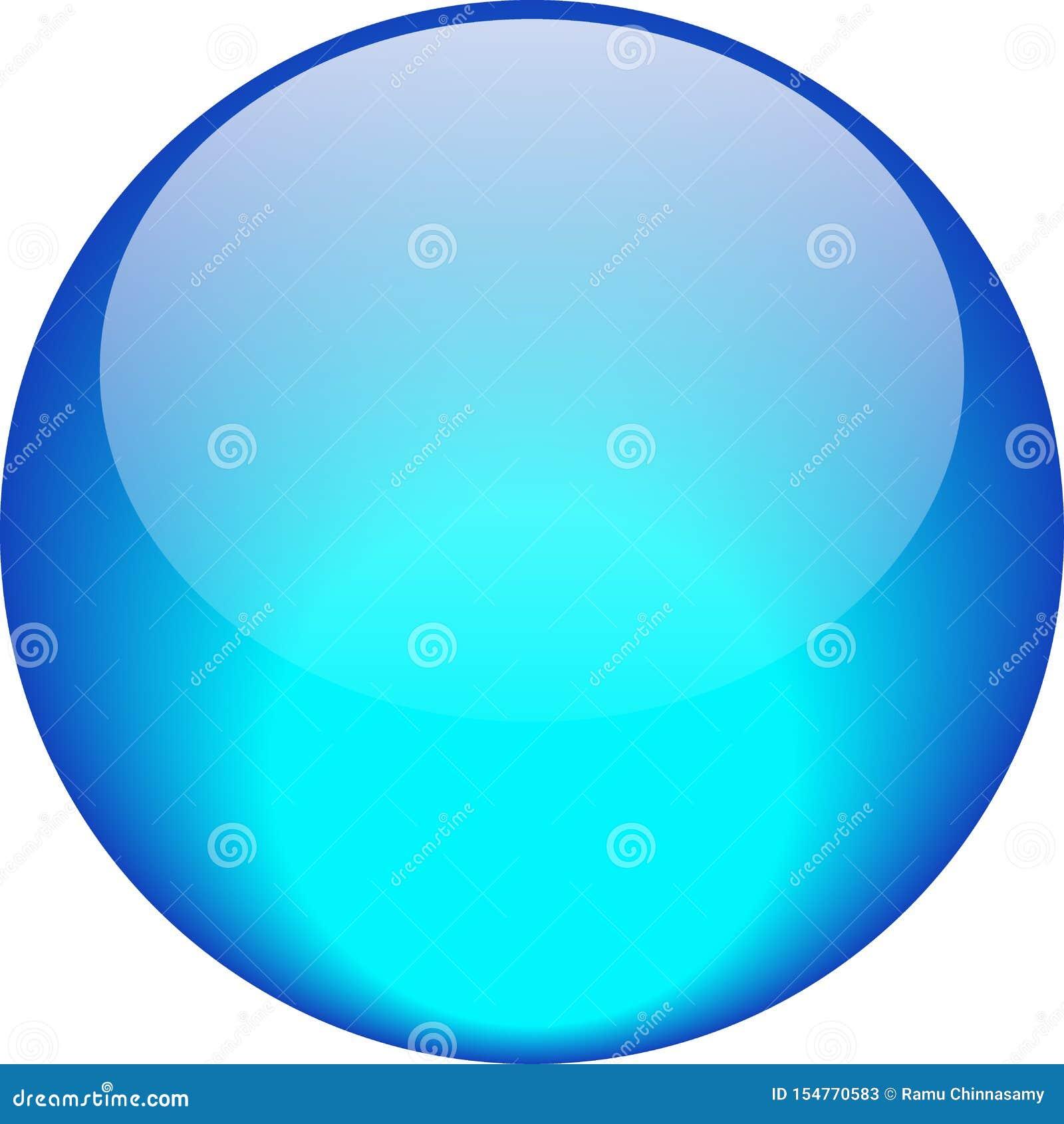Sieć guzika aqua błękit