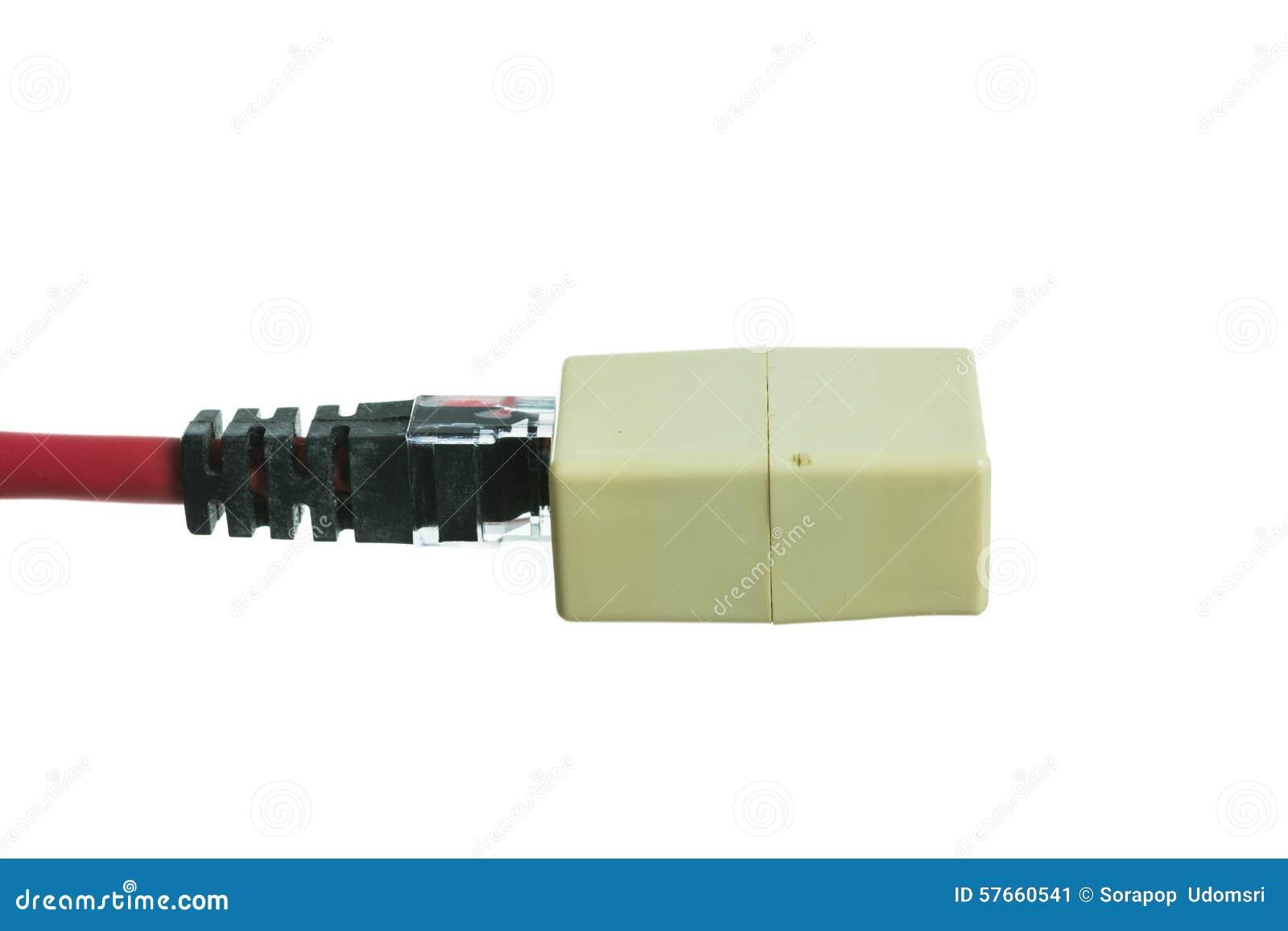 Sieć kabel z RJ45 odizolowywa