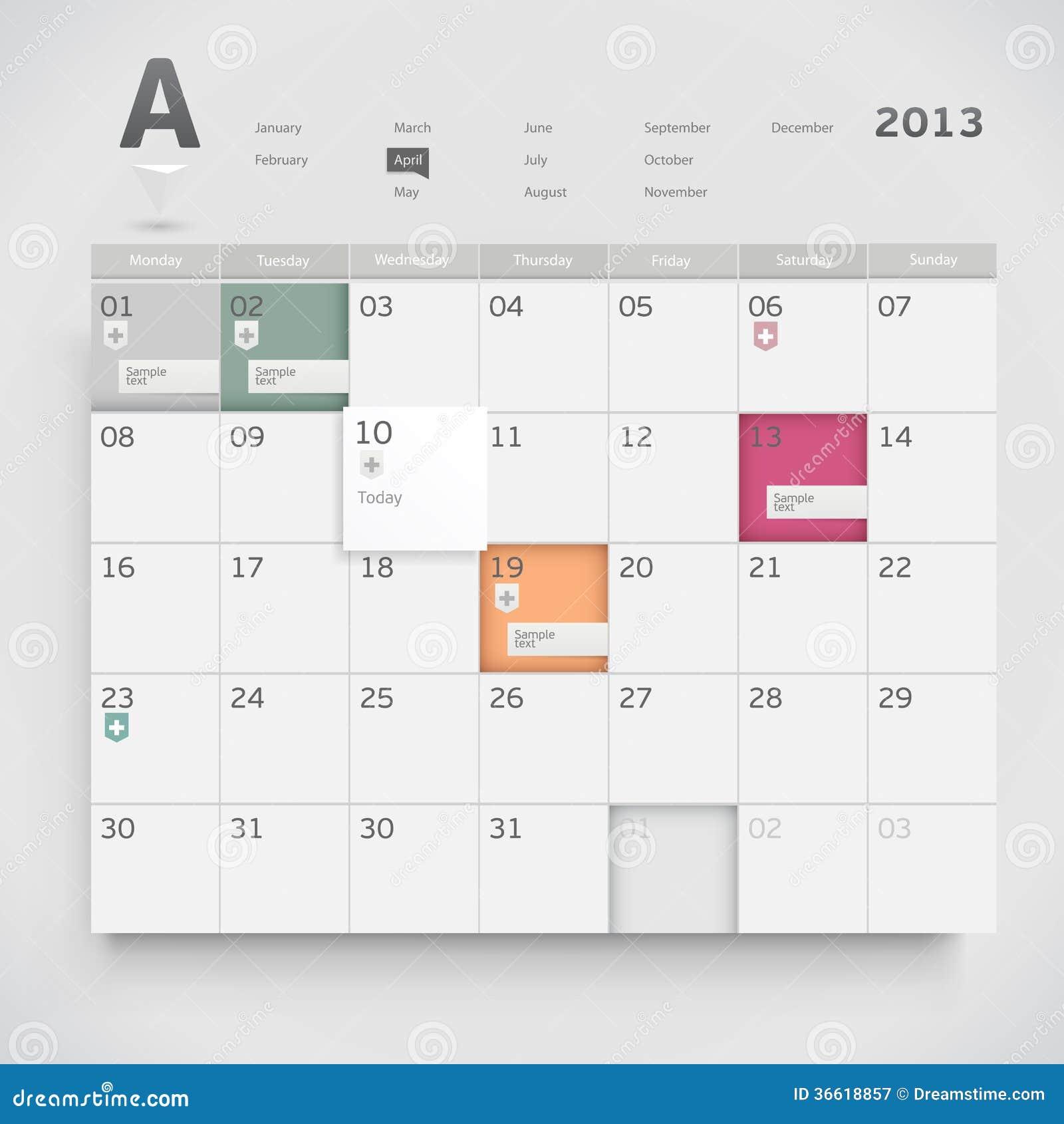 Sieć kalendarz