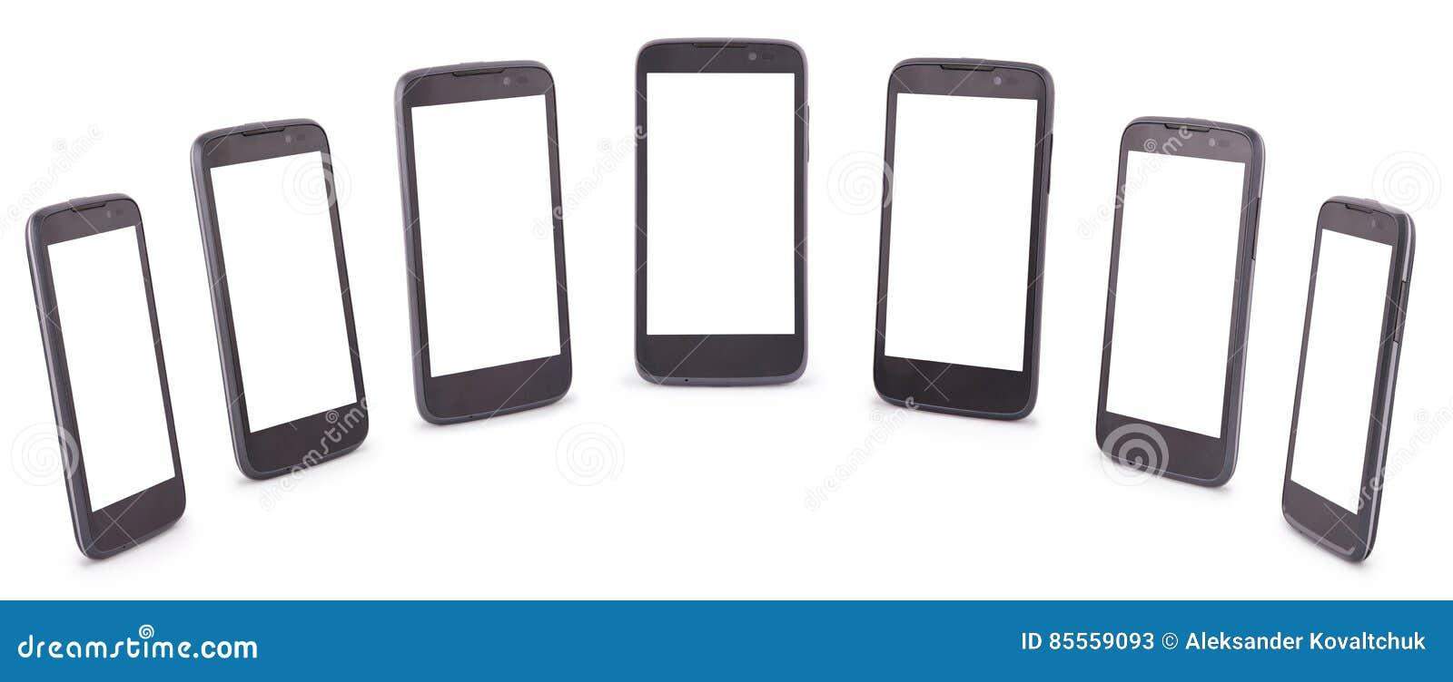 Sieben Beschneidungspfad Smart-Telefons vierzehn