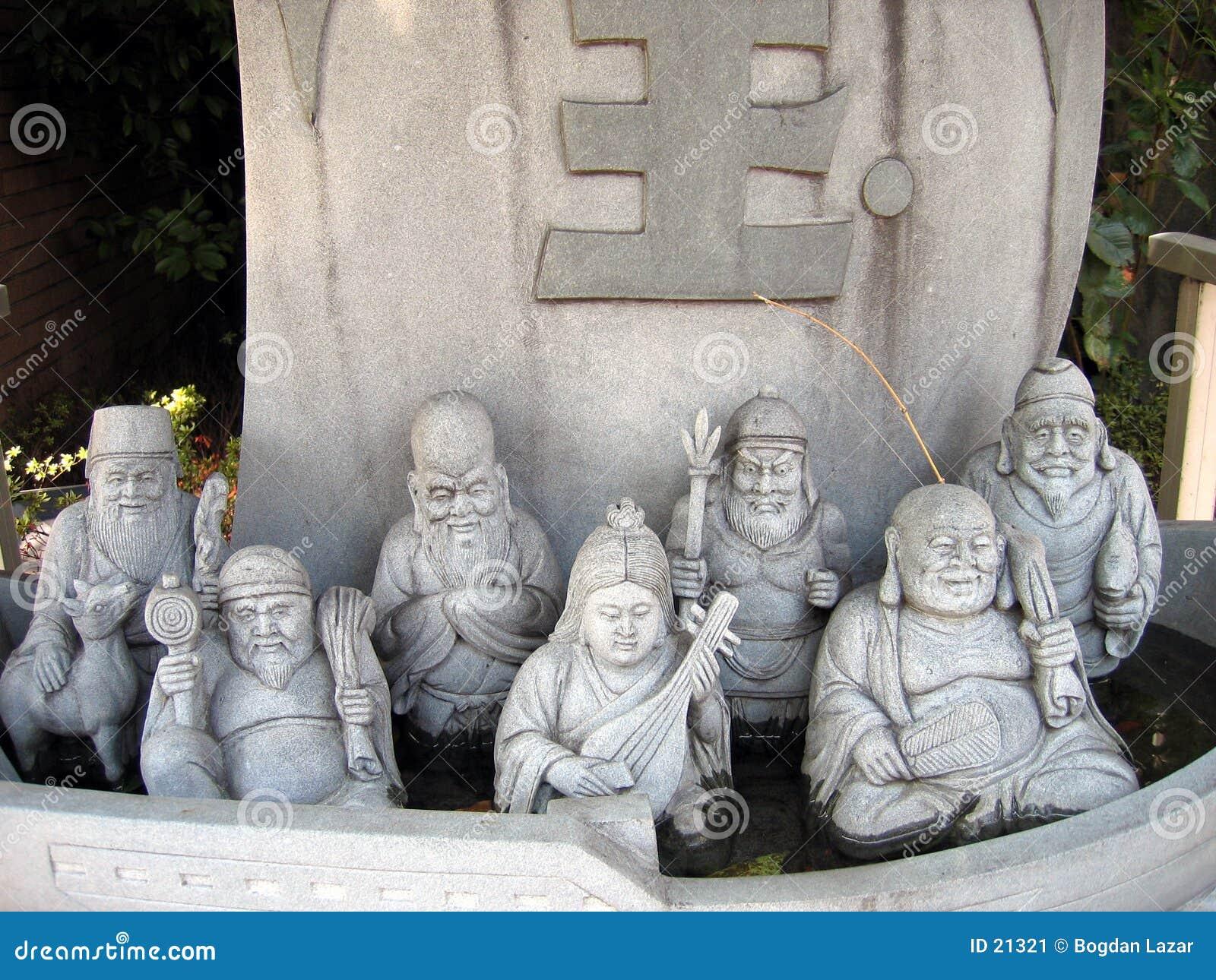 Sieben Götter