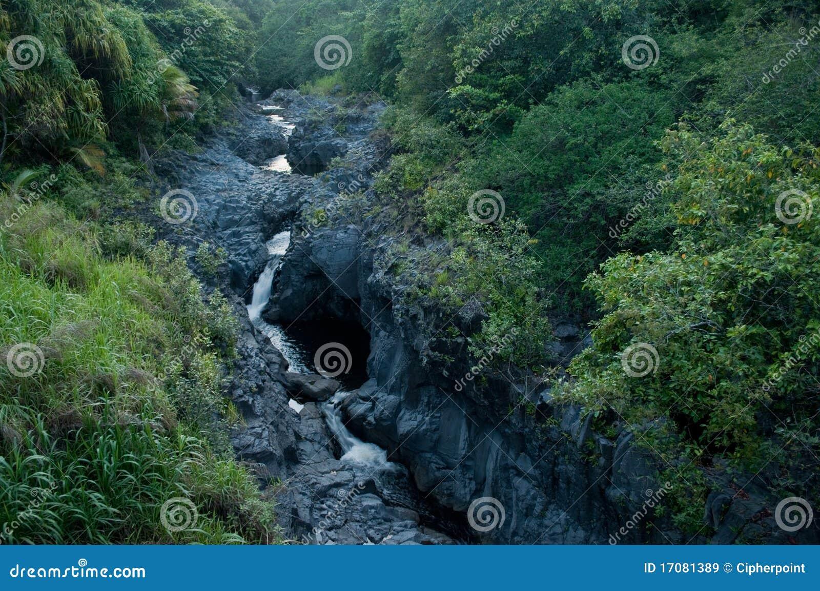 Sieben heilige Pools in Maui Hawaii