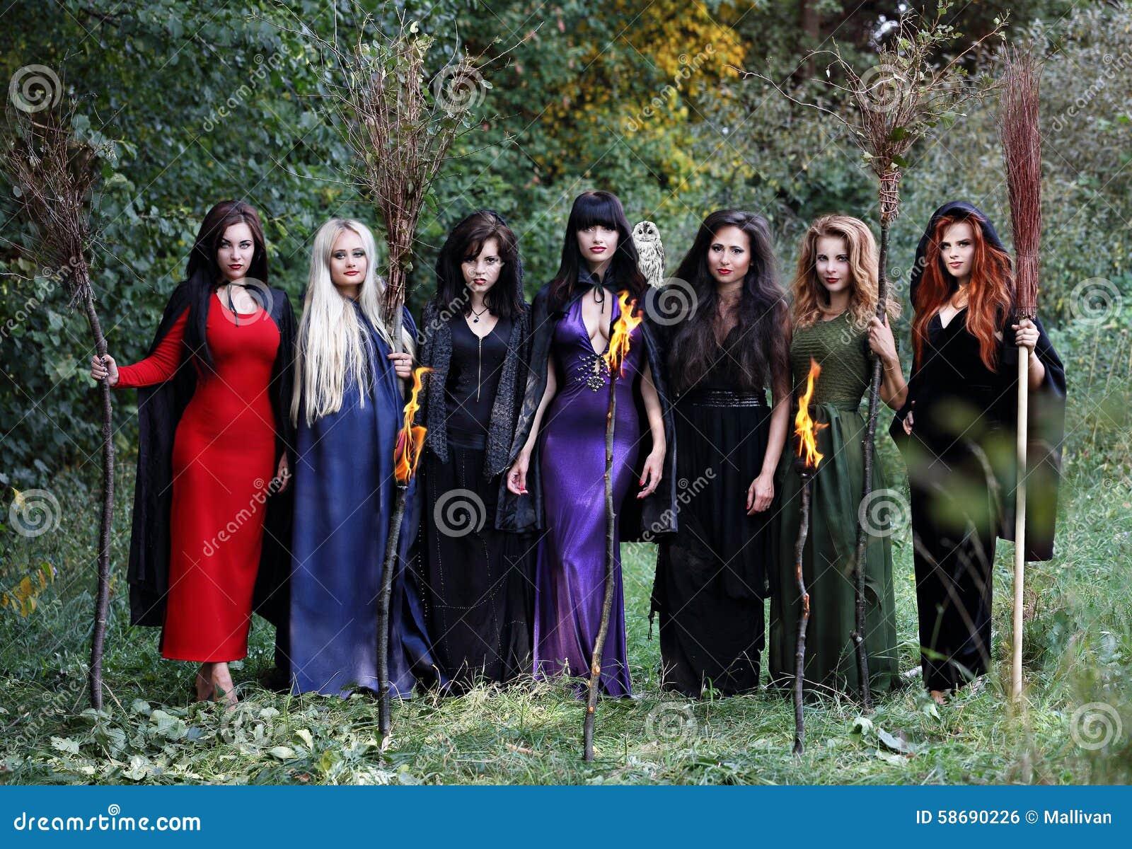 Siedem pięknych czarownic