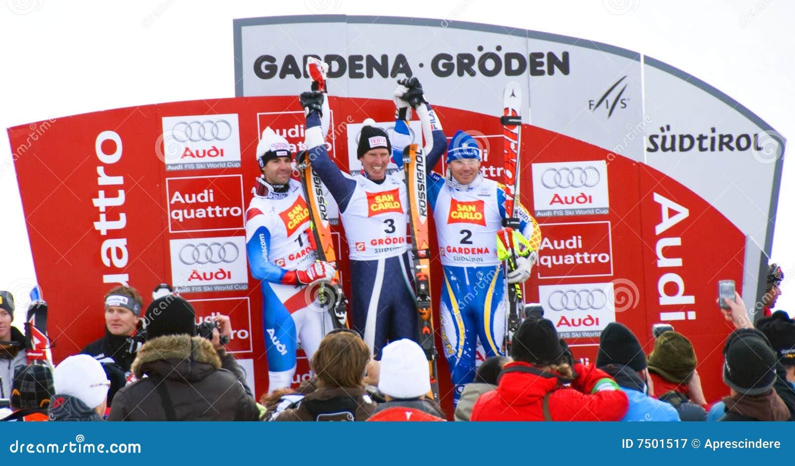 Sieger-Podium - Fis Weltcup