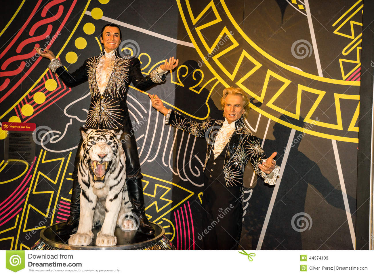 siegfried and roy editorial stock photo  image of entertainment