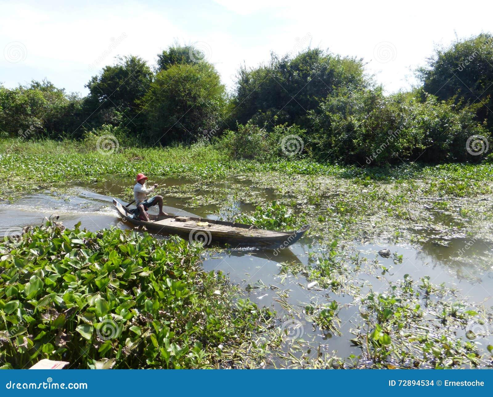 Siem Reap à Battambang/à bateau - exprimez/Cambodge