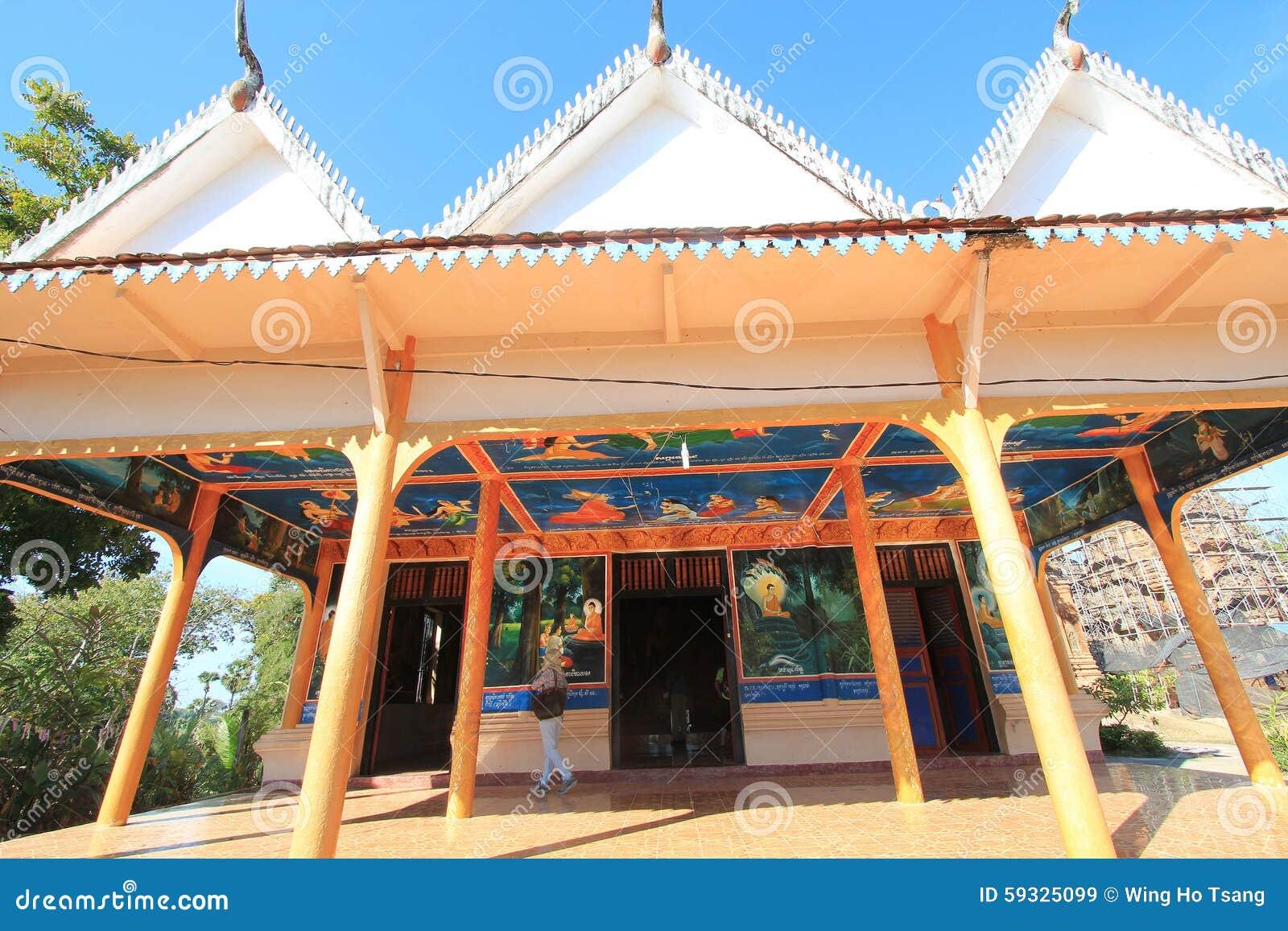 Cambodia, Siem Reap, January 22nd, 2014, Angkor Thom ...