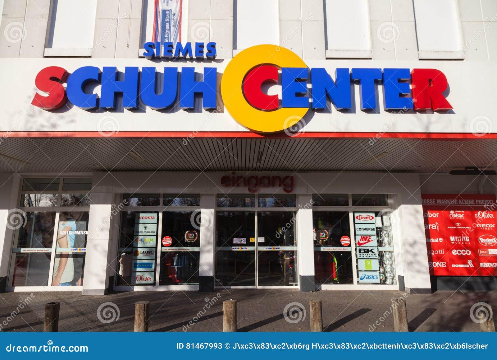 best service 4f59d 6bdd0 Siemes Schuhcenter Shoe Center Store Editorial Stock Photo ...