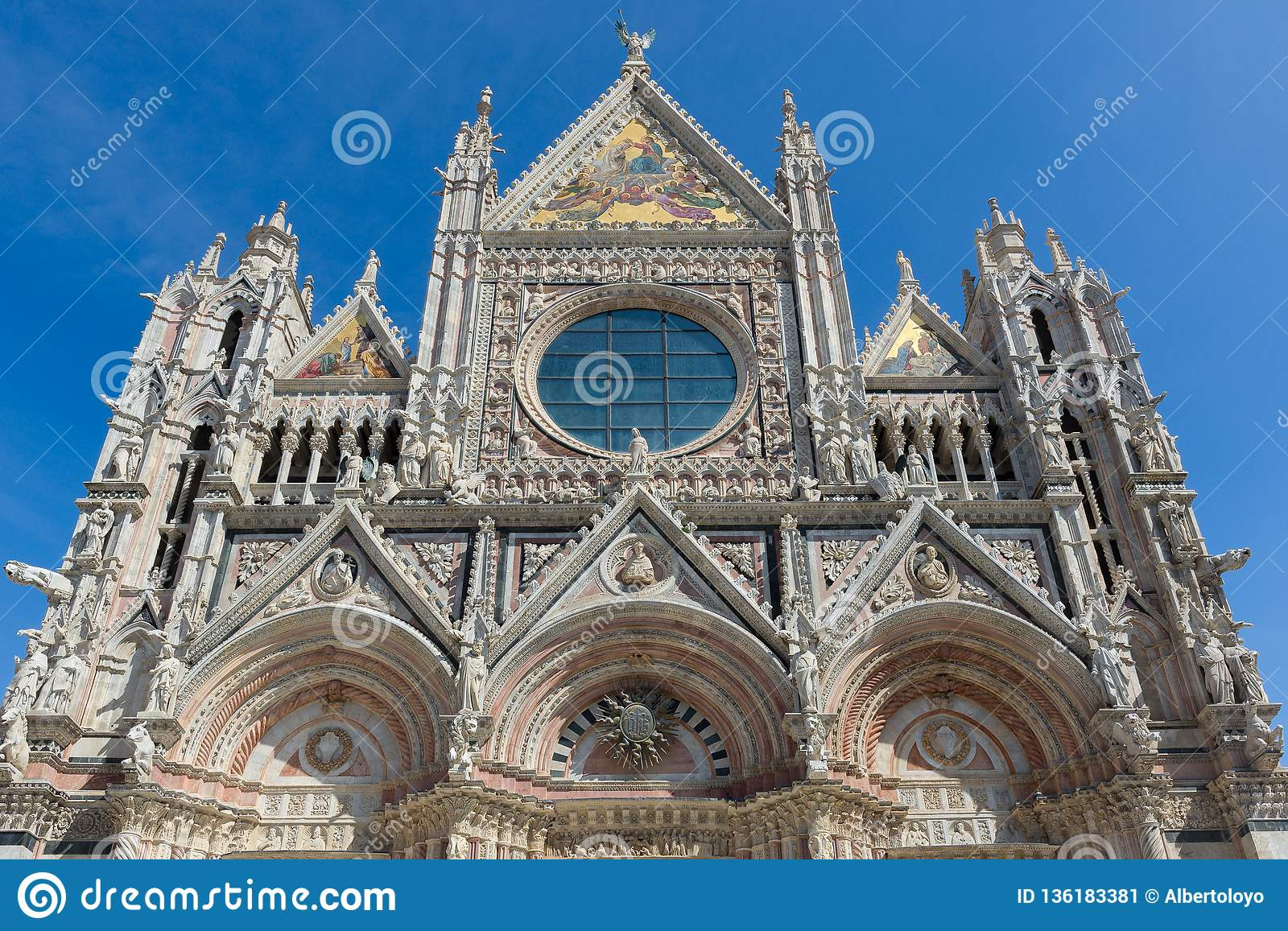 Siena Cathedral, dedicated to the Assumption of the Blessed Virgin Mary