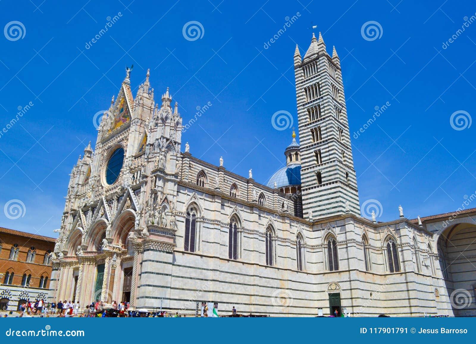 Siena Cathedral Duomo di Siena, catedral metropolitana del santo