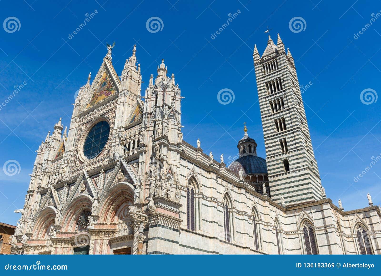 Siena Cathedral, eingeweiht der Annahme von gesegneten Jungfrau Maria