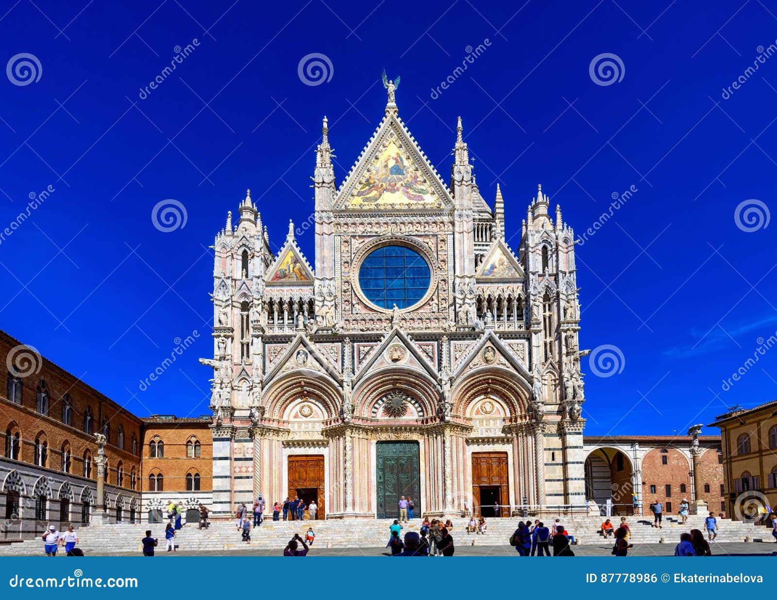 Siena Cathedral Santa Maria Assunta Duomo Di Siena In ...