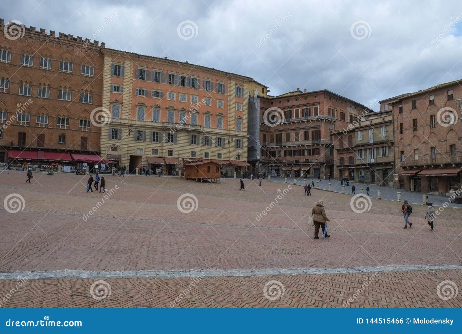 Siena stad, Italien