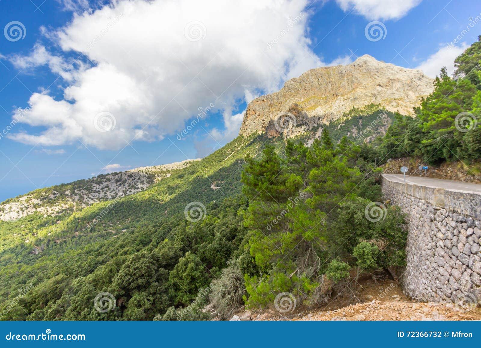 Sierra de Tramuntana,马略卡,西班牙