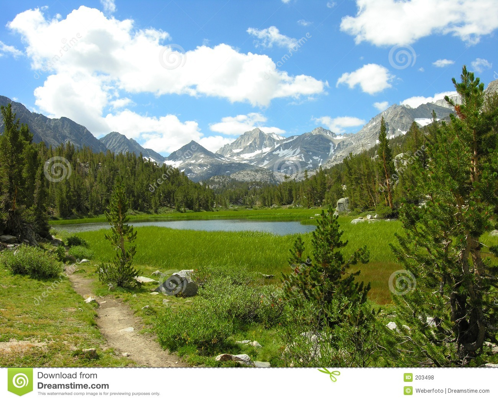 Sierra lago nevada